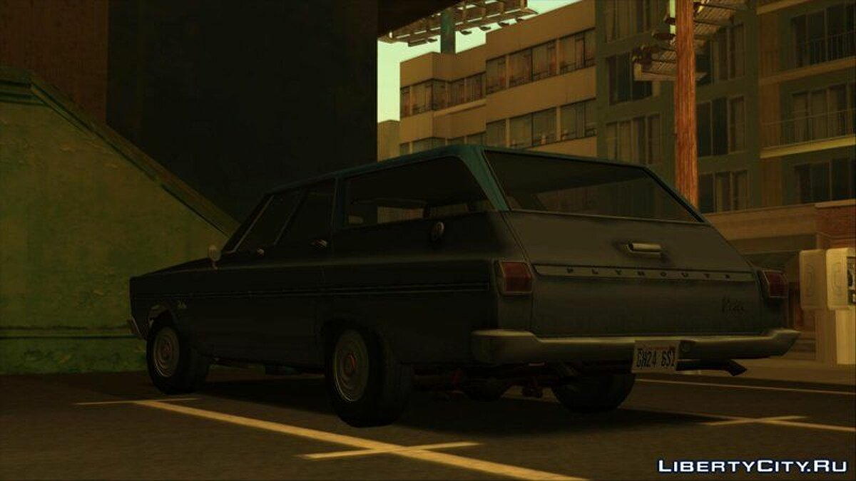 Машина Plymouth Plymouth Belvedere Station Wagon 1965 для GTA San Andreas