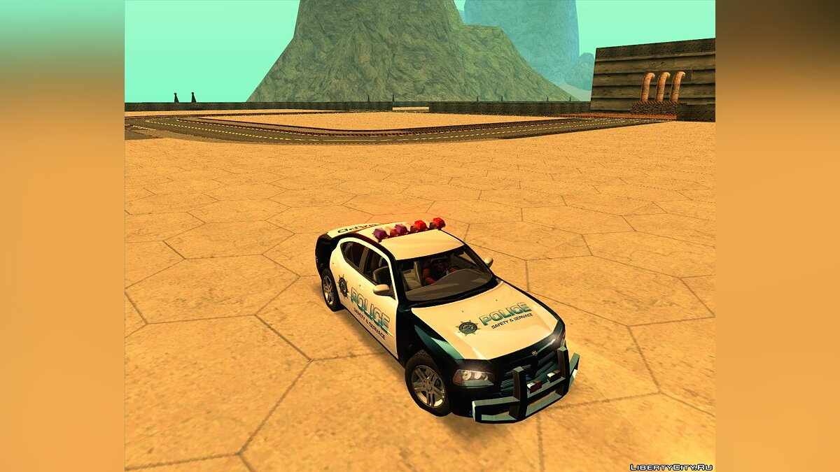 Dodge Charger R/T Police Car для GTA San Andreas
