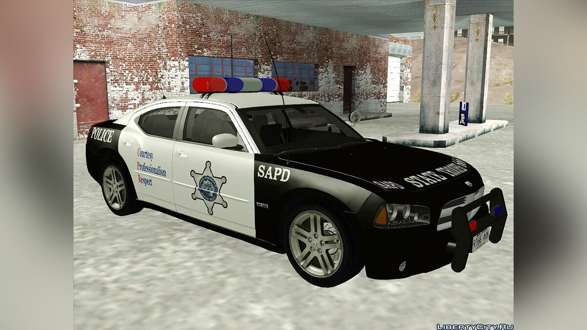 Dodge Charger RT police для GTA San Andreas - Картинка #1