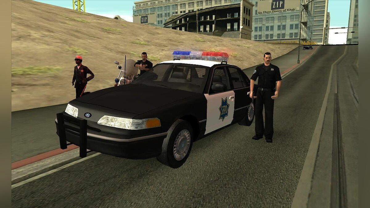 1992 Ford Crown Victoria Police для GTA San Andreas