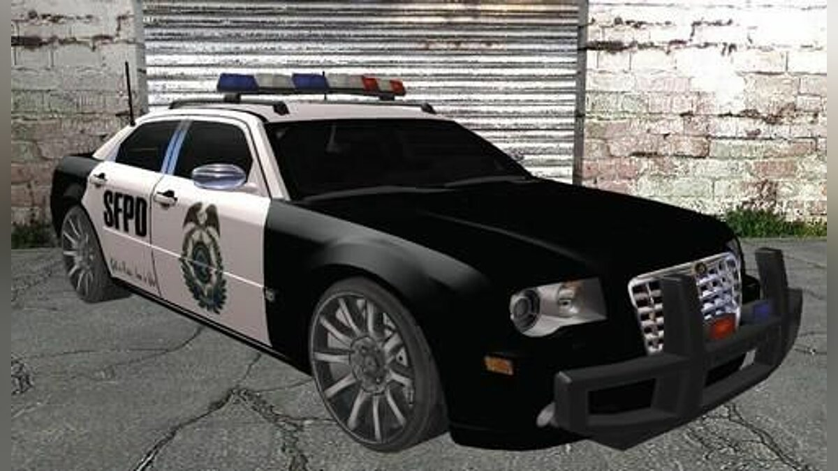 Chrysler 300C Police Unit для GTA San Andreas