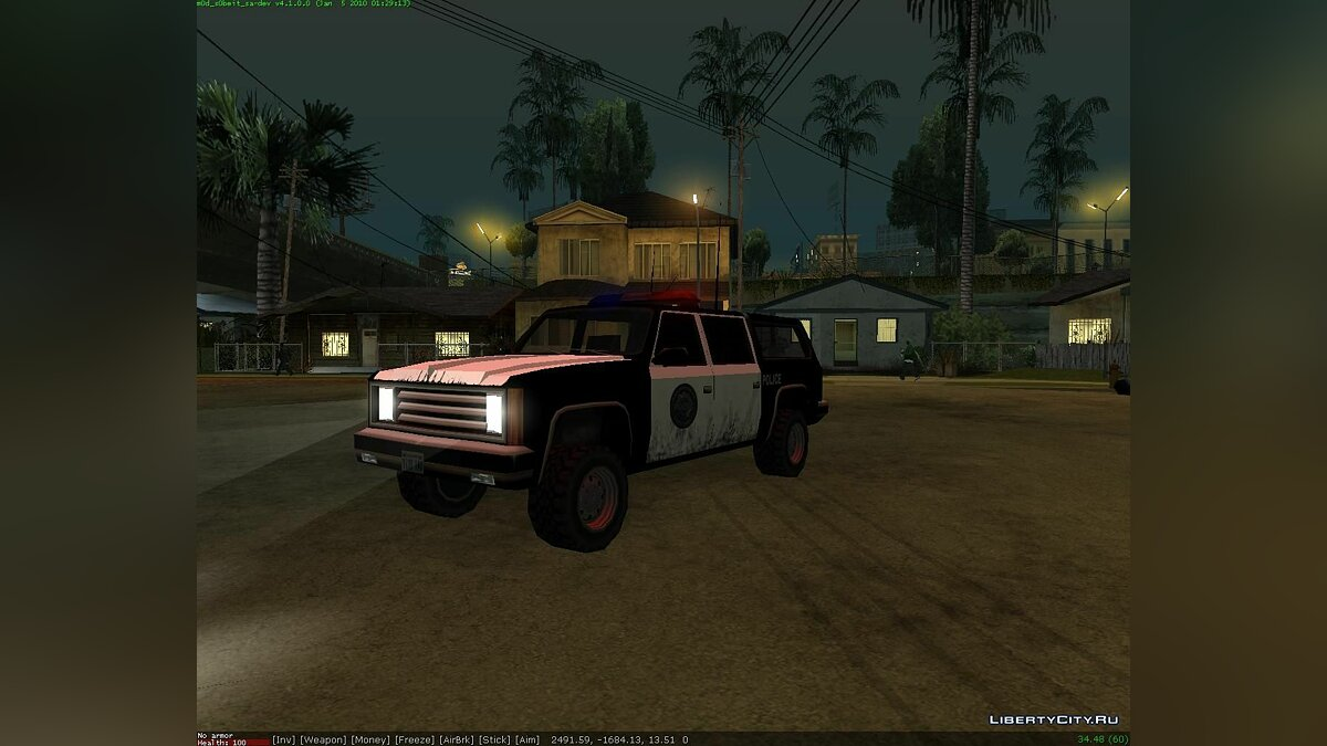 Police Ranger 5door version для GTA San Andreas