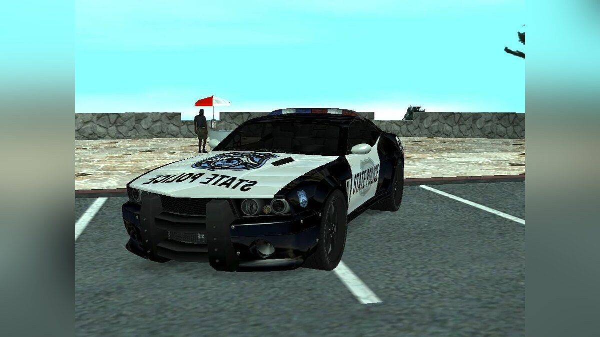 Ford Mustang Shelby police для GTA San Andreas