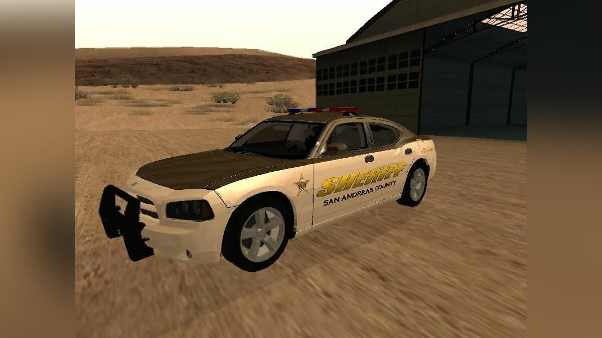 San Andreas County Sheriff's Dept Dodge Charger для GTA San Andreas