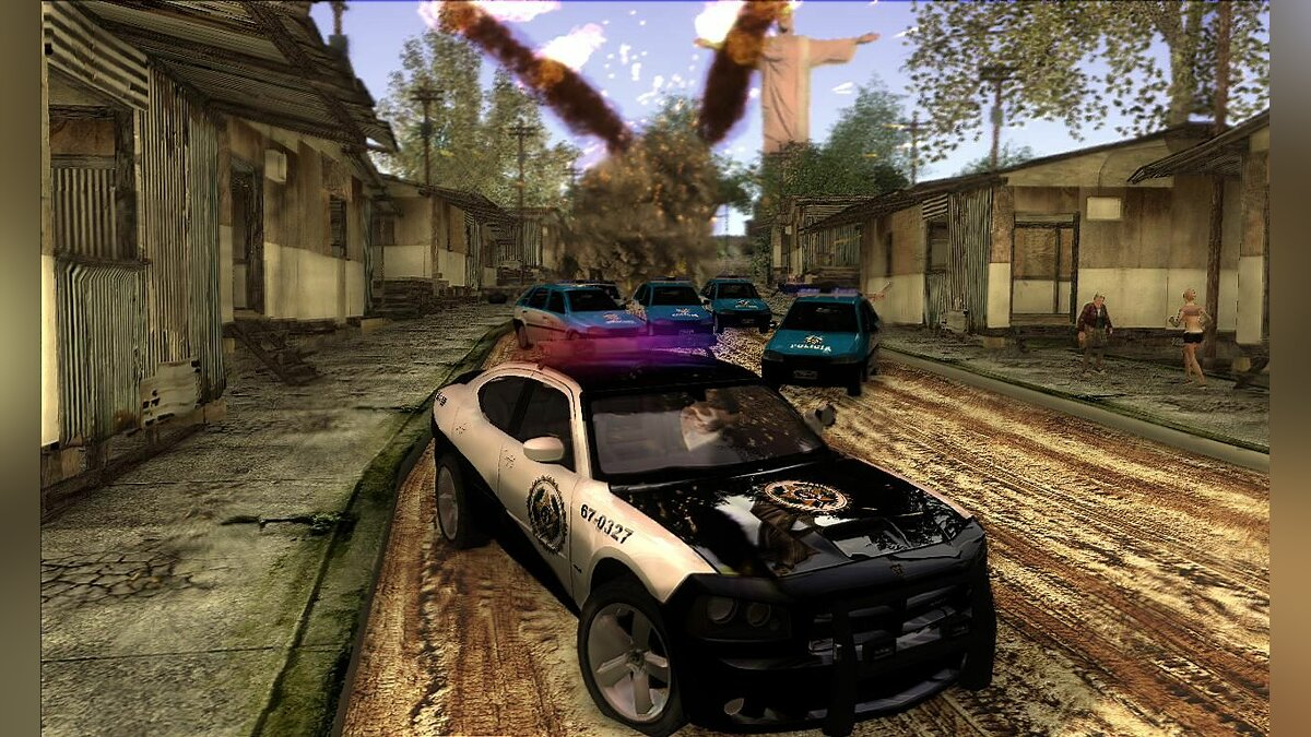 Dodge Charger Police Rio для GTA San Andreas