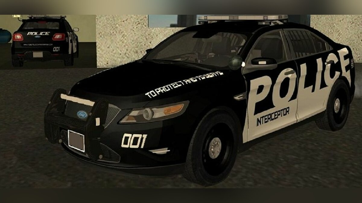 2010 Ford Taurus Police Interceptor для GTA San Andreas