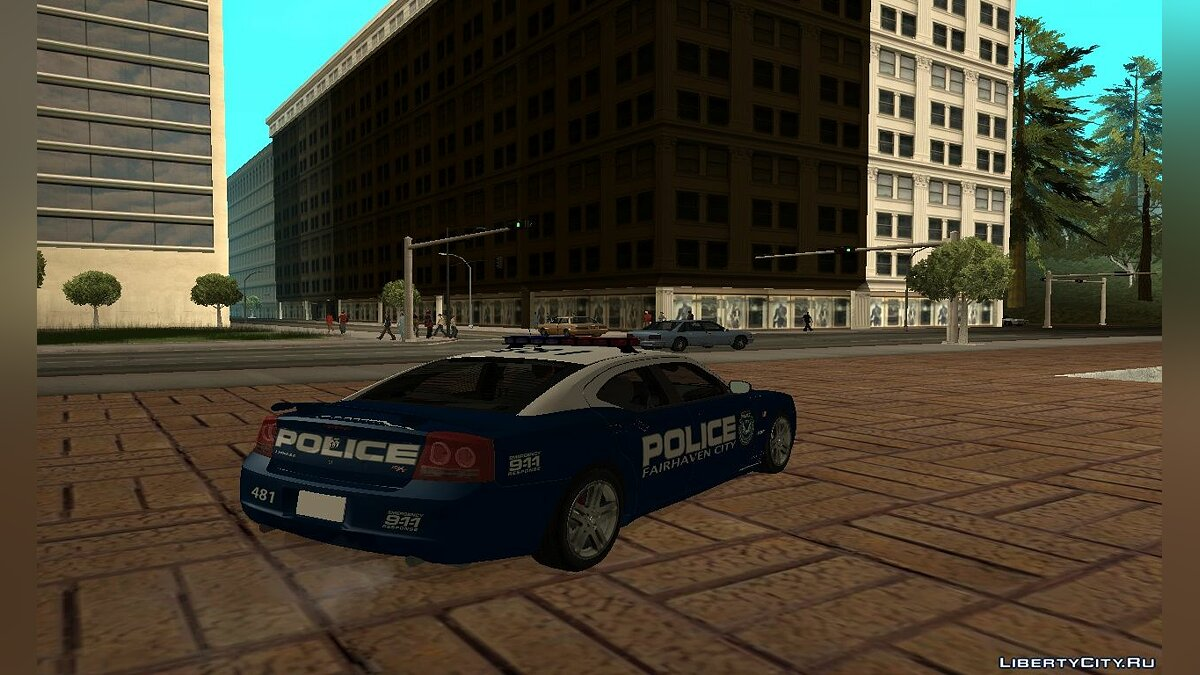 Fairhaven City Police Department Pack для GTA San Andreas