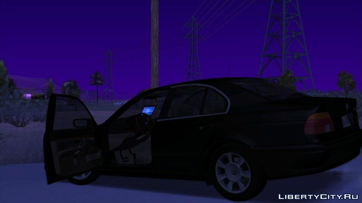 Машина полиции FIB BMW 5-Series e39 525i 1999 (US-Spec) - Машина ФБР для GTA San Andreas