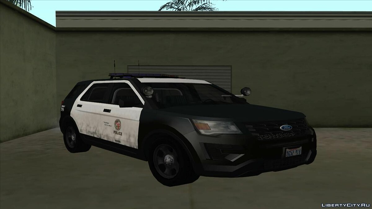 Ford Police Interceptor Utility 2016 для GTA San Andreas