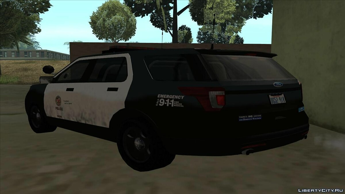 Ford Police Interceptor Utility 2016 для GTA San Andreas - скриншот #2