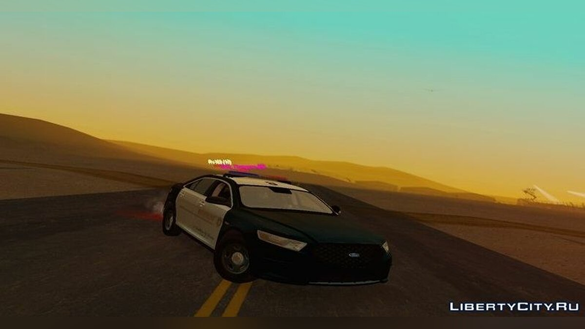 2013 LASD Ford Taurus Interceptor для GTA San Andreas