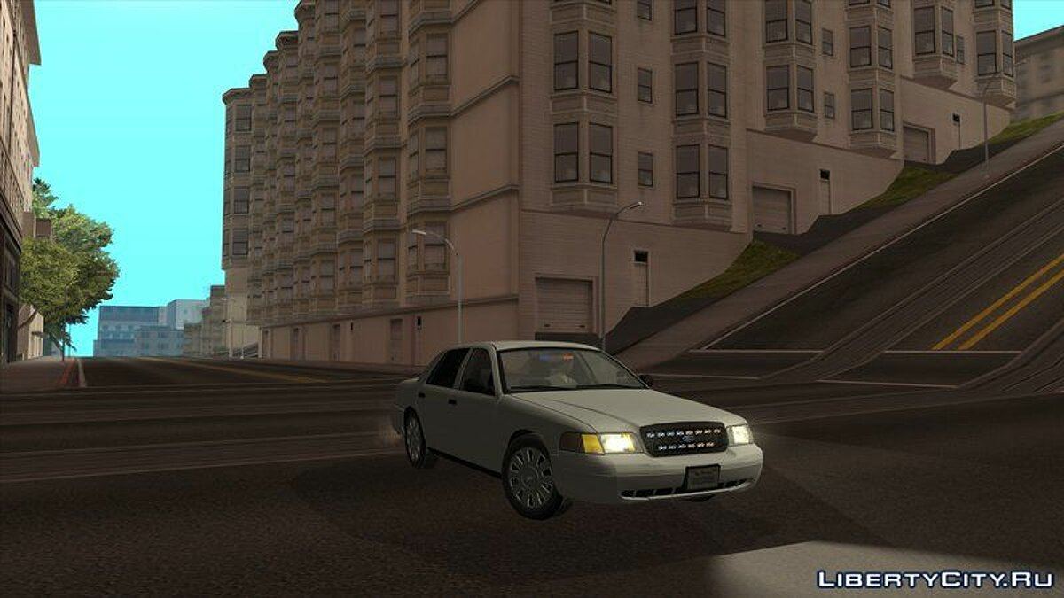 2009 Ford Crown Victoria Unmarked для GTA San Andreas