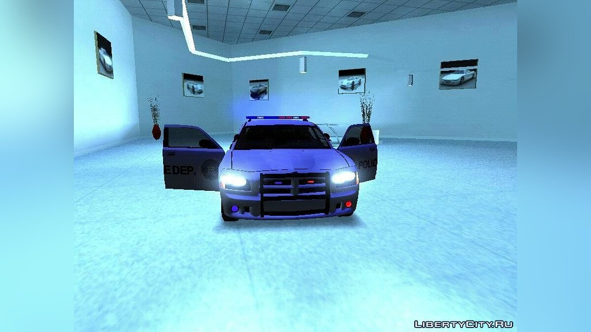Машина полиции Dodge Charger Police Car 2020 для GTA San Andreas