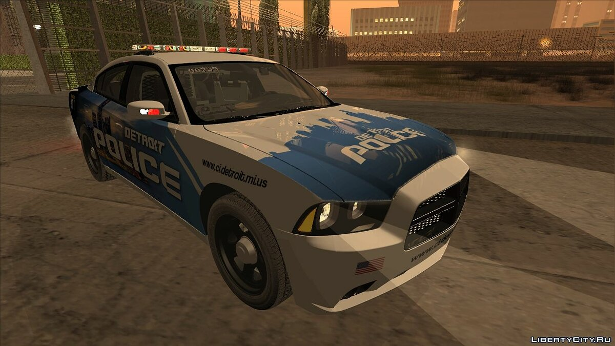 Dodge Charger 2013 Detroit Police для GTA San Andreas - скриншот #2