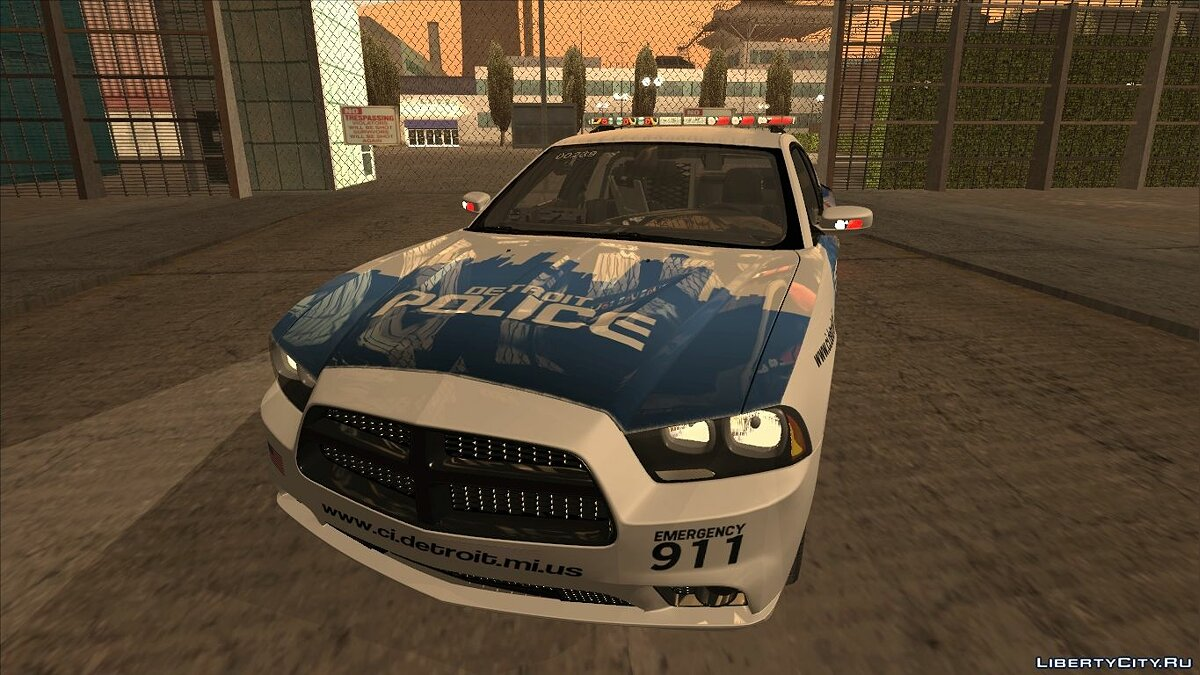 Dodge Charger 2013 Detroit Police для GTA San Andreas