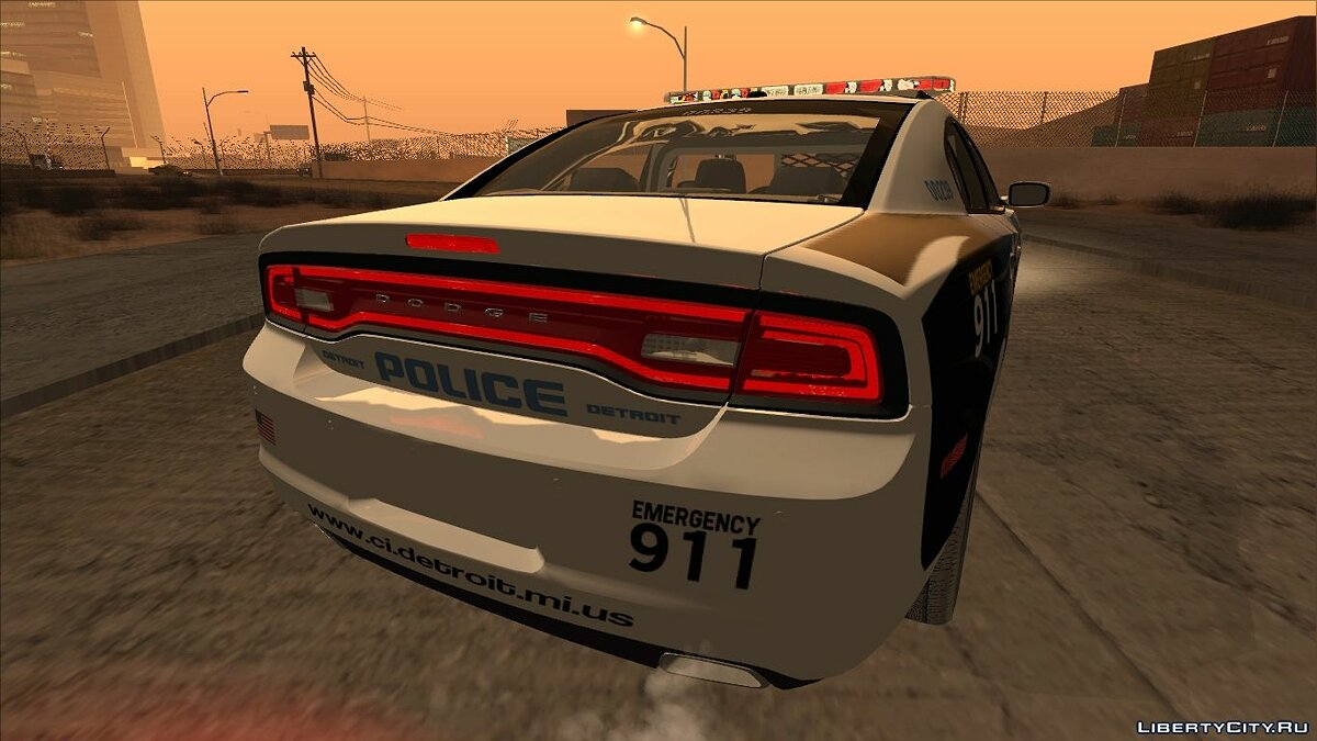 Dodge Charger 2013 Detroit Police для GTA San Andreas - скриншот #7