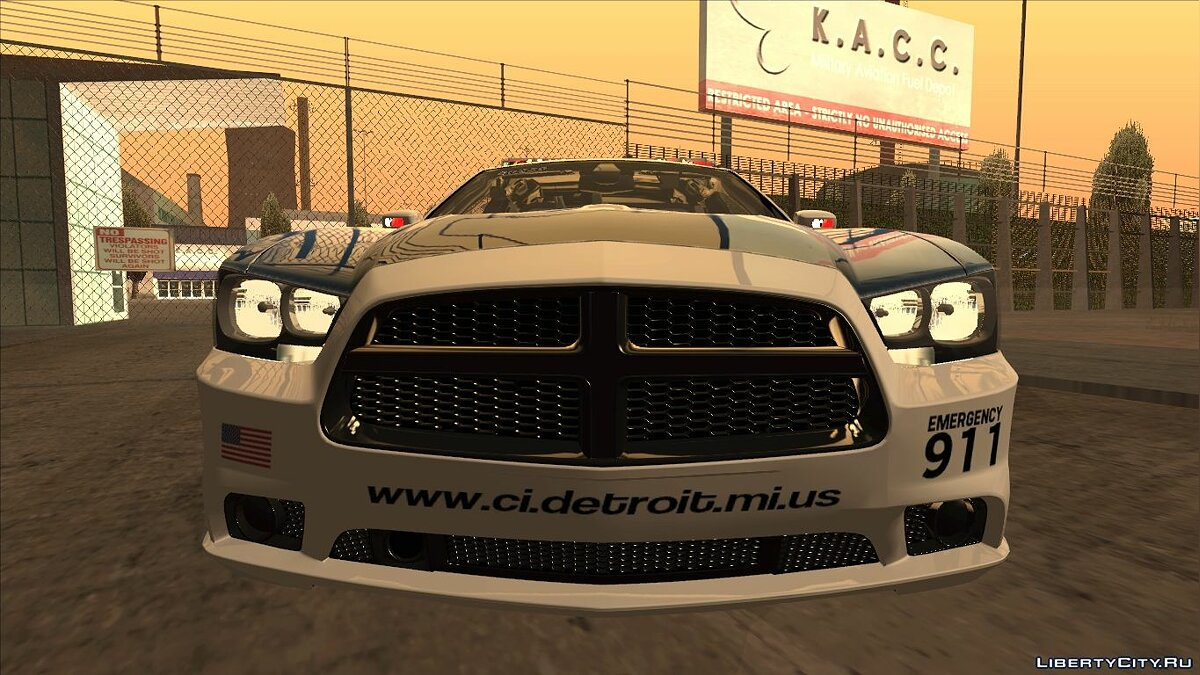 Dodge Charger 2013 Detroit Police для GTA San Andreas - скриншот #6