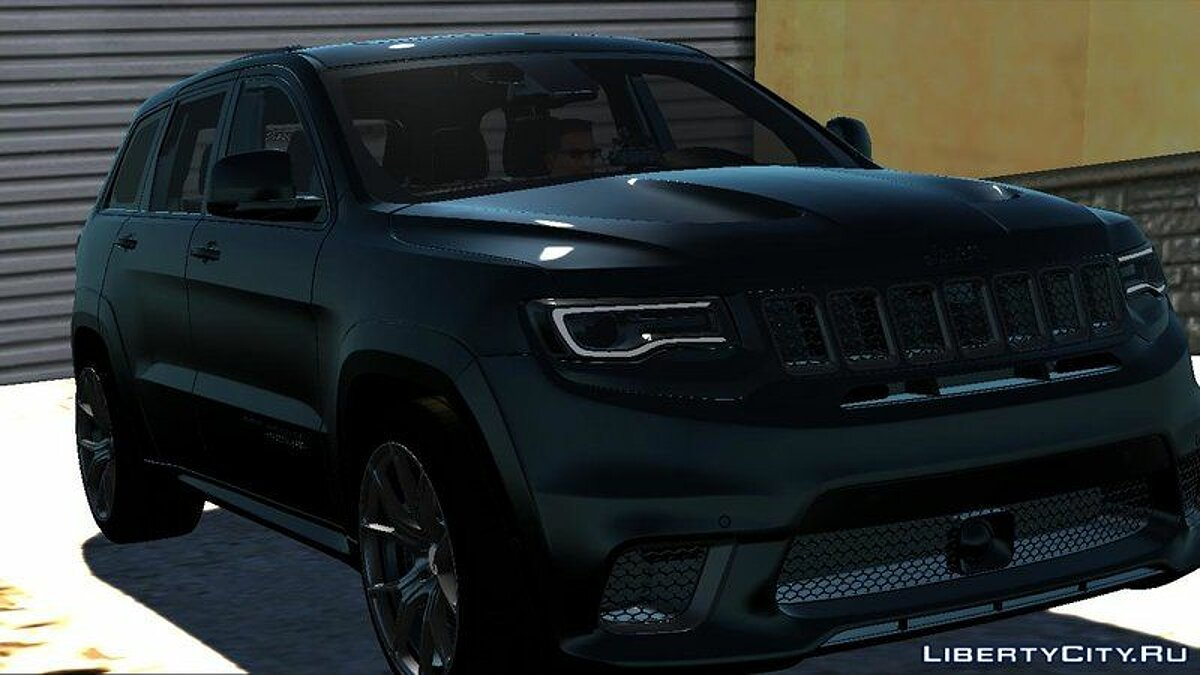 Машина полиции Jeep SRT 8 TrackHawk Полиция для GTA San Andreas