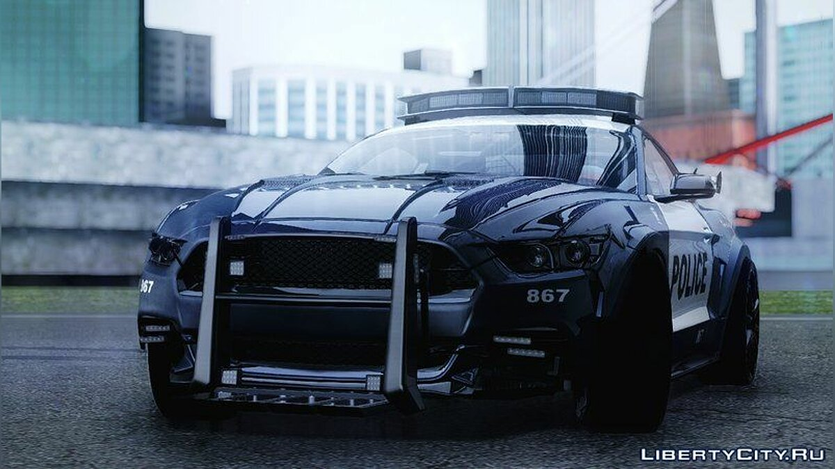 2015 Ford Mustang GT 'Barricade' Transformers 5 для GTA San Andreas
