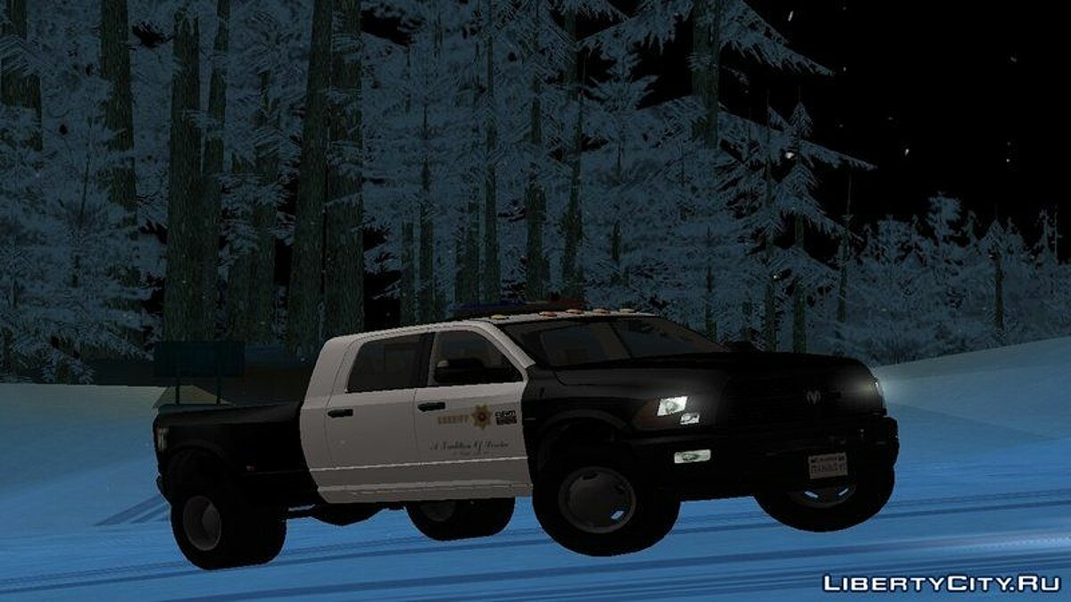 Машина полиции Dodge Ram 3500 Heavy Duty LASD для GTA San Andreas