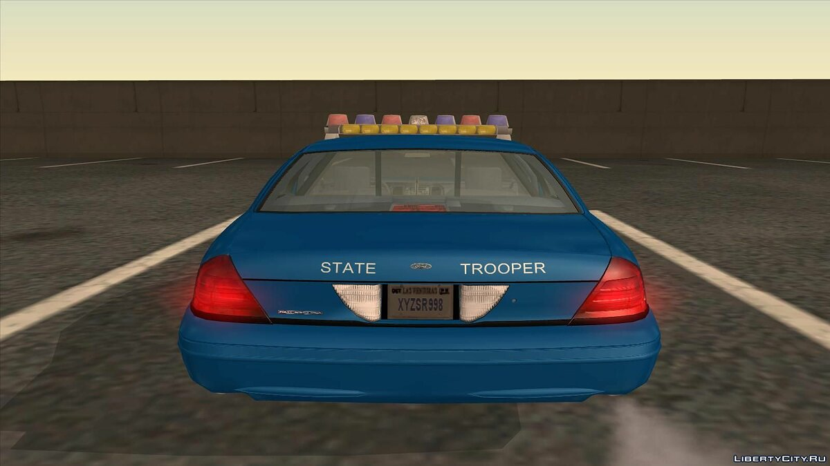 Ford Crown Victoria Police pack для GTA San Andreas - скриншот #6