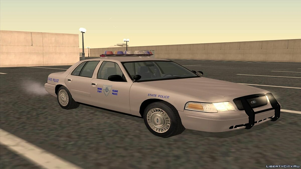 Ford Crown Victoria Police pack для GTA San Andreas - скриншот #7