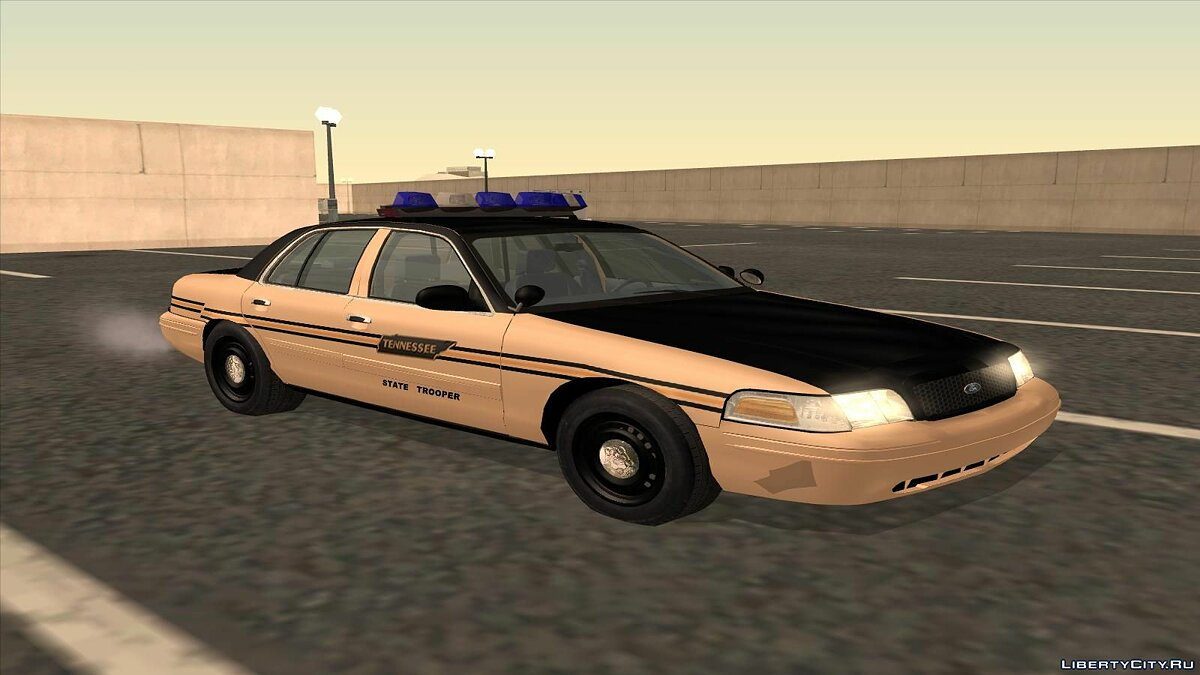 Ford Crown Victoria Police pack для GTA San Andreas - скриншот #8