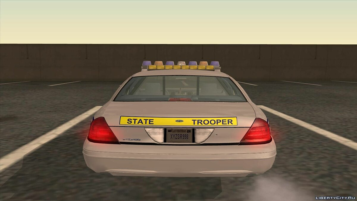 Ford Crown Victoria Police pack для GTA San Andreas - скриншот #2