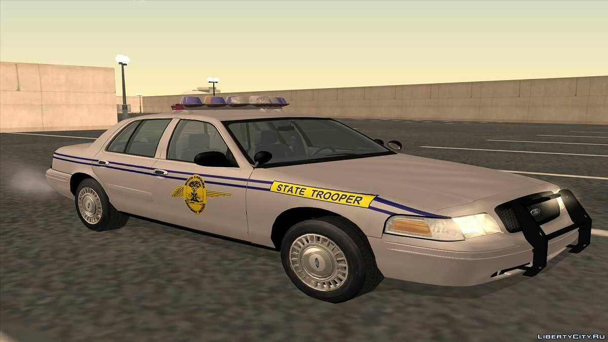 Ford Crown Victoria Police pack для GTA San Andreas - скриншот #3