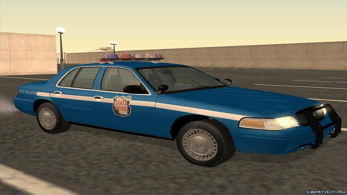 Ford Crown Victoria Police pack для GTA San Andreas - скриншот #11