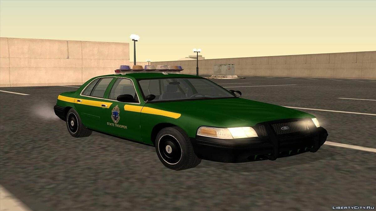 Ford Crown Victoria Police pack для GTA San Andreas - скриншот #10