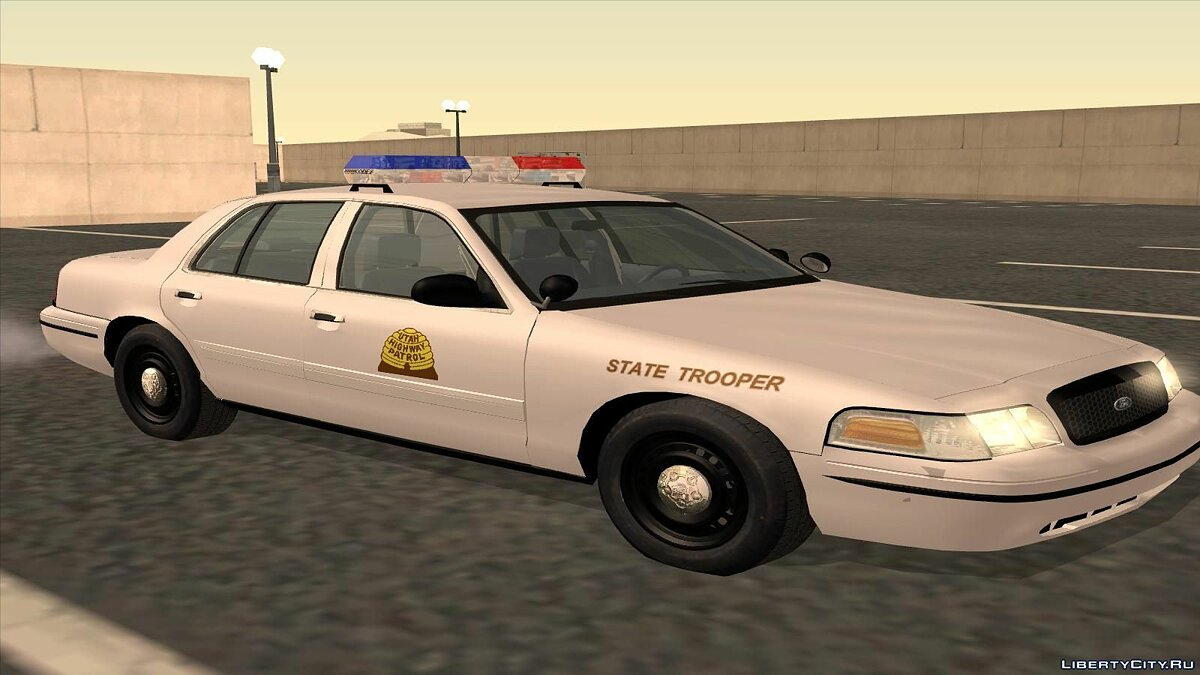 Ford Crown Victoria Police pack для GTA San Andreas - скриншот #16