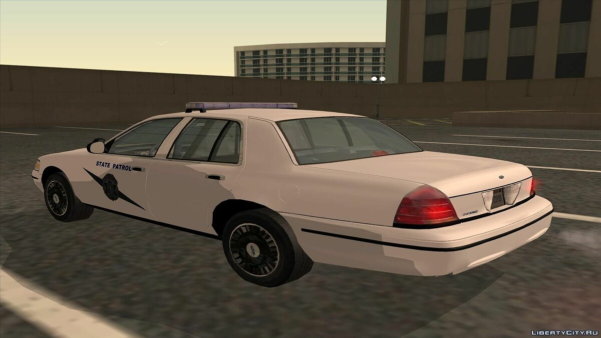 Ford Crown Victoria Police pack для GTA San Andreas - скриншот #14