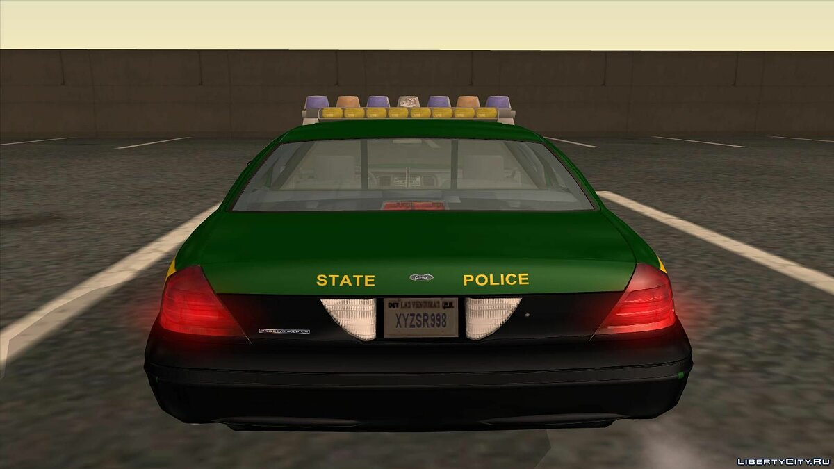 Ford Crown Victoria Police pack для GTA San Andreas - скриншот #15
