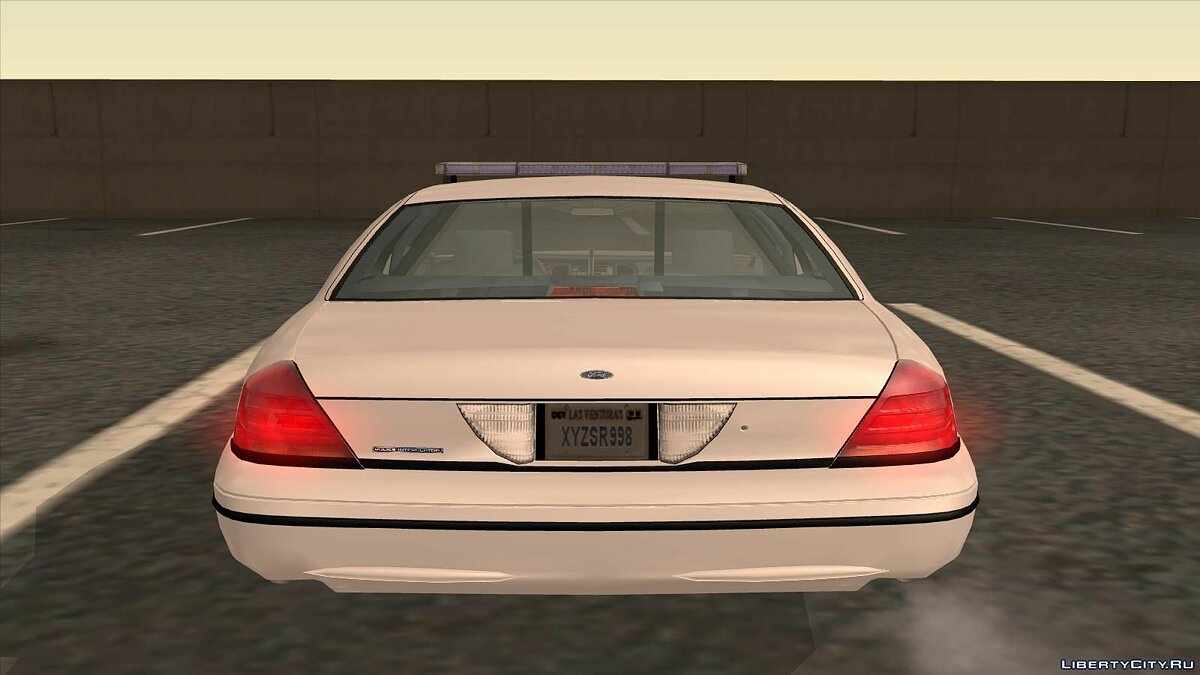 Ford Crown Victoria Police pack для GTA San Andreas - скриншот #13