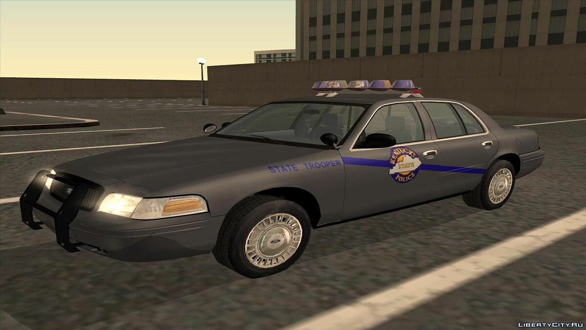 Ford Crown Victoria Kentucky Police для GTA San Andreas - скриншот #2