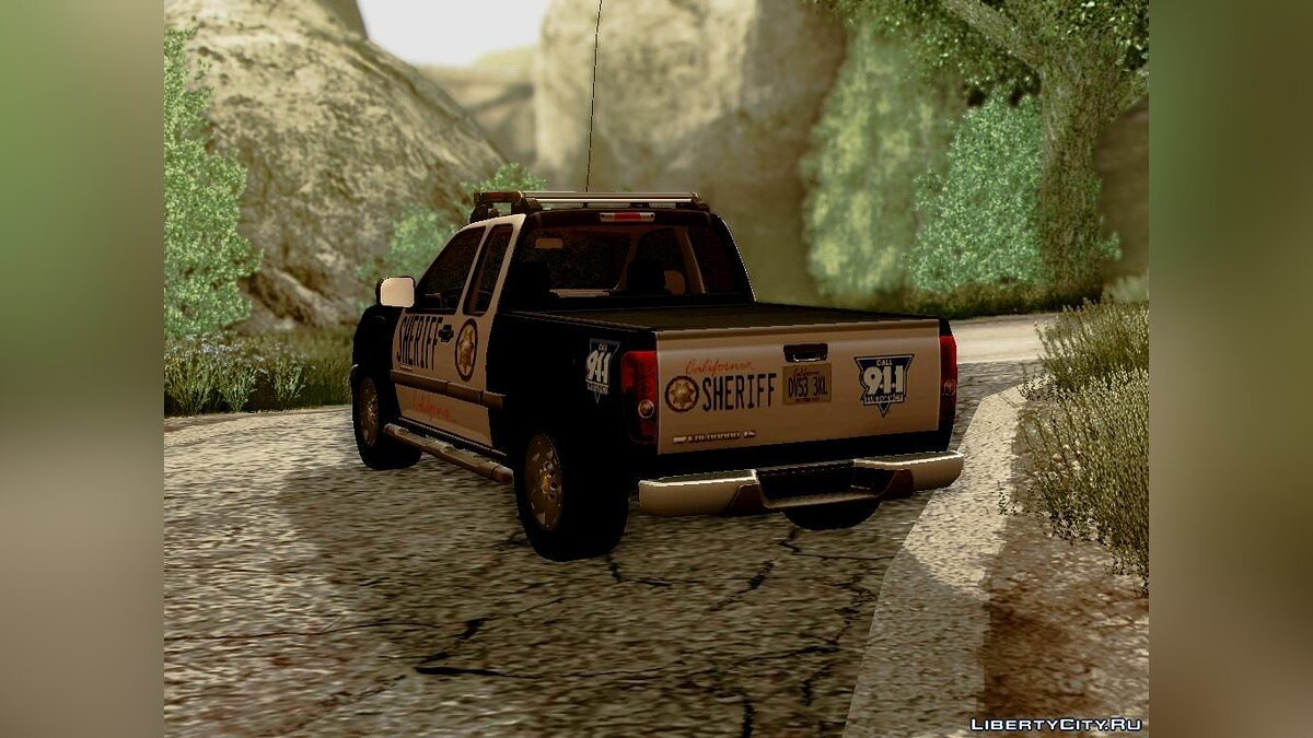 "Chevrolet Colorado ""Sheriff"" для GTA San Andreas - скриншот #4"