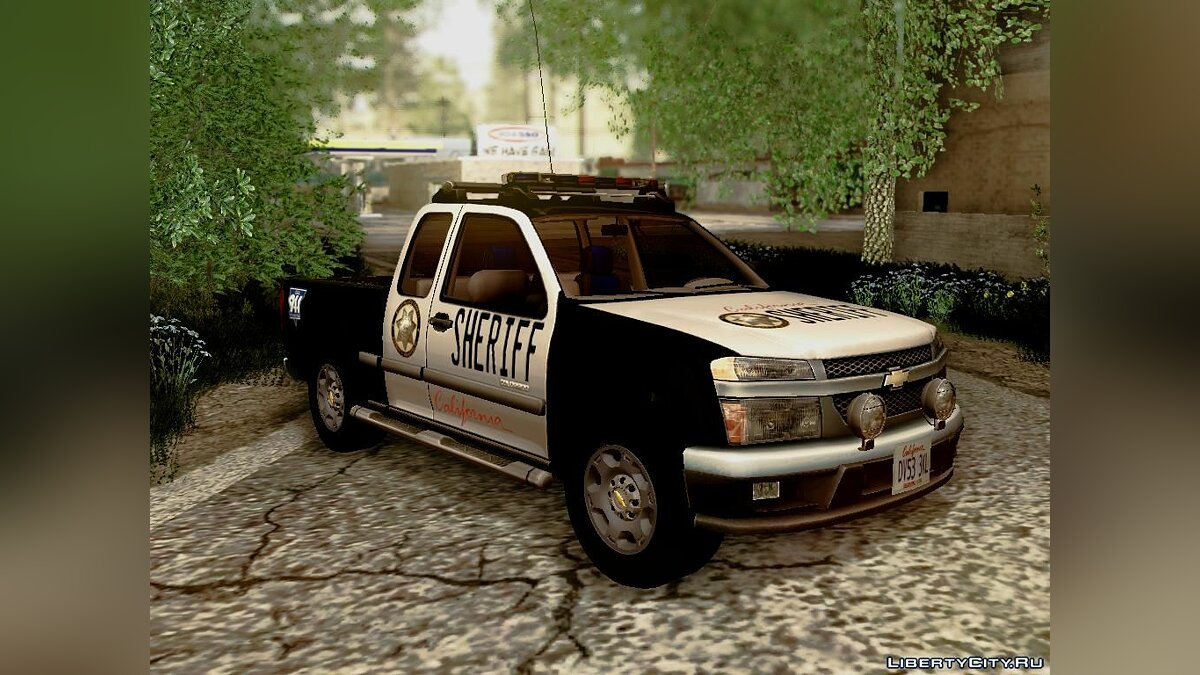 "Chevrolet Colorado ""Sheriff"" для GTA San Andreas - скриншот #5"