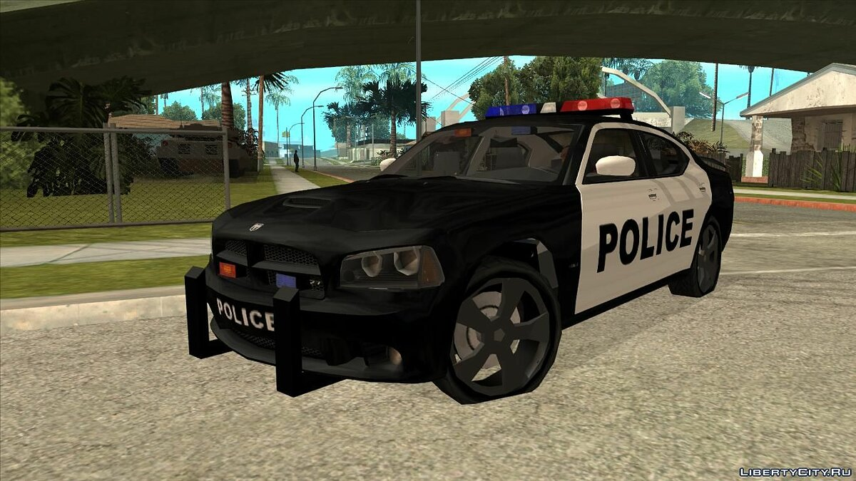 Dodge Charger SRT8 Police (Lowpoly) для GTA San Andreas