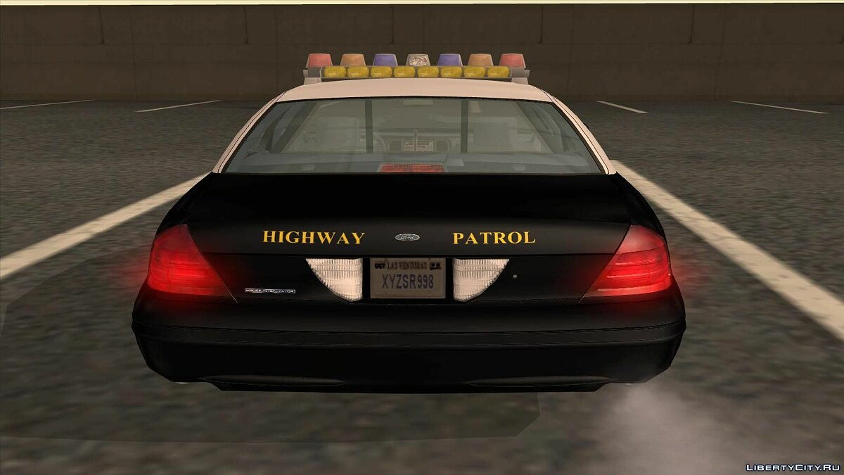 Ford Crown Victoria Wyoming Police для GTA San Andreas