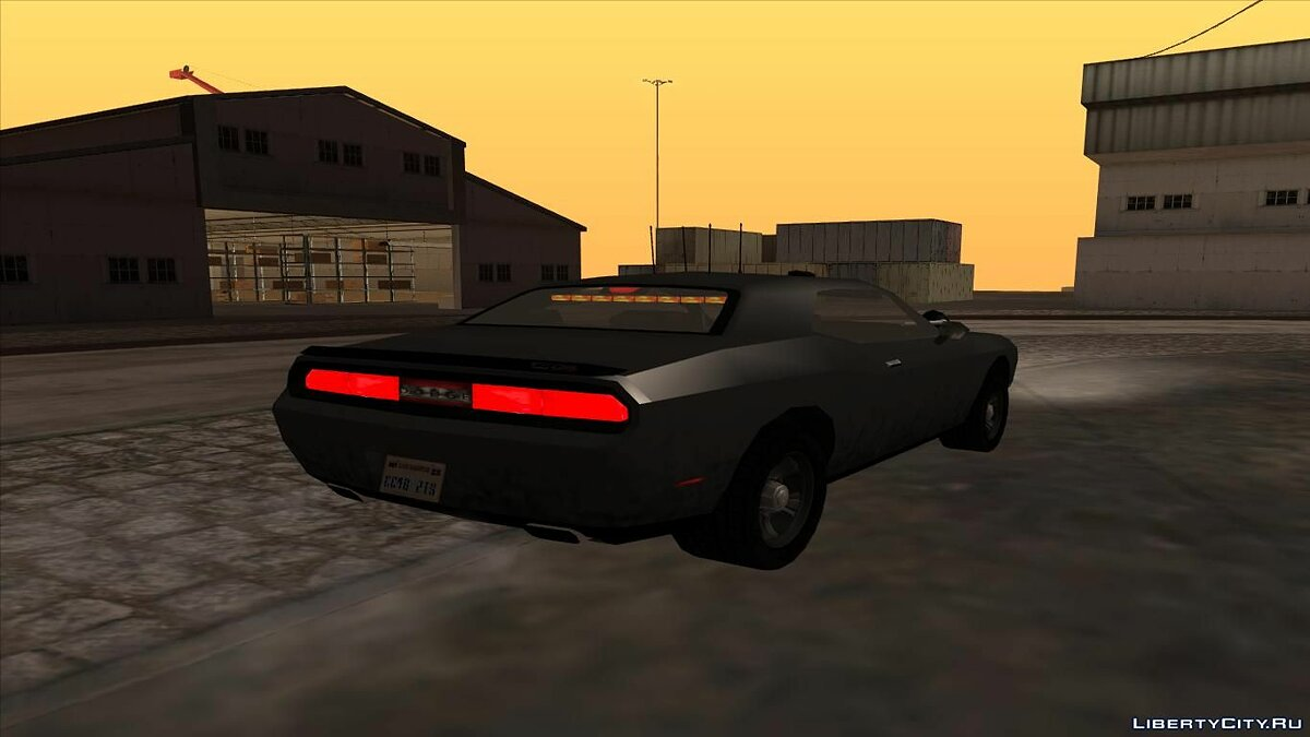 Dodge Challenger Unmarked LQ для GTA San Andreas - скриншот #2