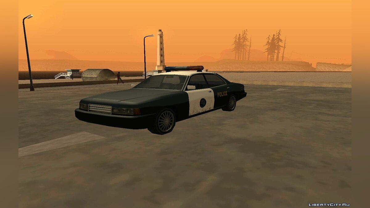 NFS High Stakes Cop для GTA San Andreas