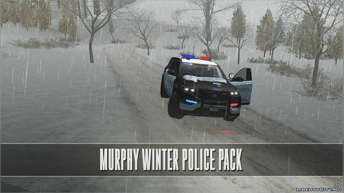 Машина полиции Murphy Winter Police Pack для GTA San Andreas