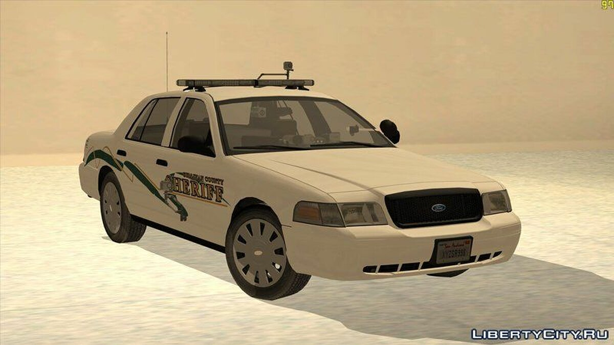 "Машина полиции 2009 Ford Crown Victoria ""Southern Justice"" для GTA San Andreas"