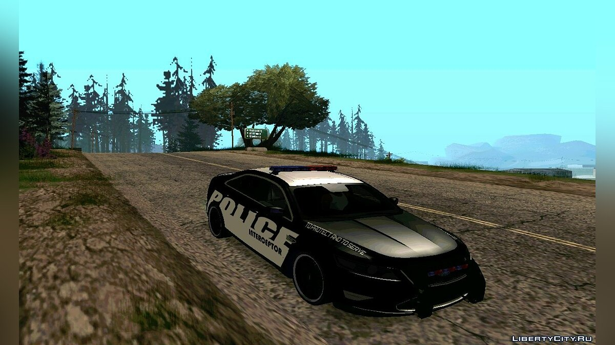 Police Interceptor Pack v2 для GTA San Andreas