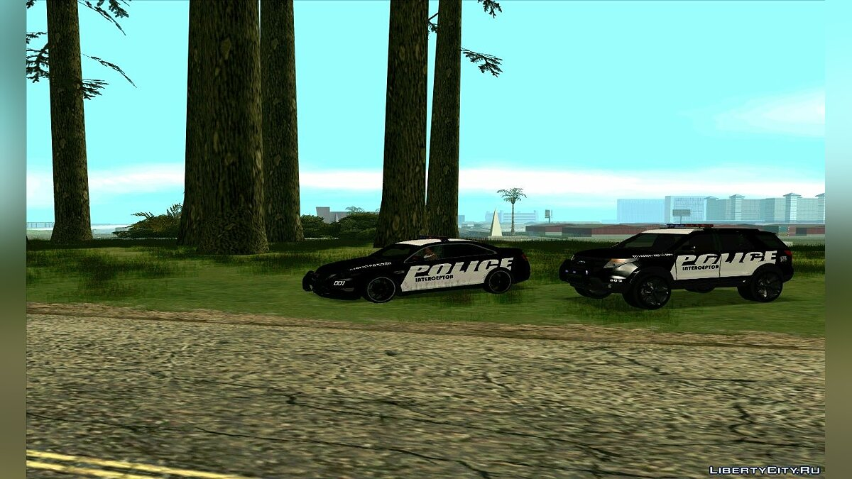 Police Interceptor Pack v2 для GTA San Andreas - скриншот #3