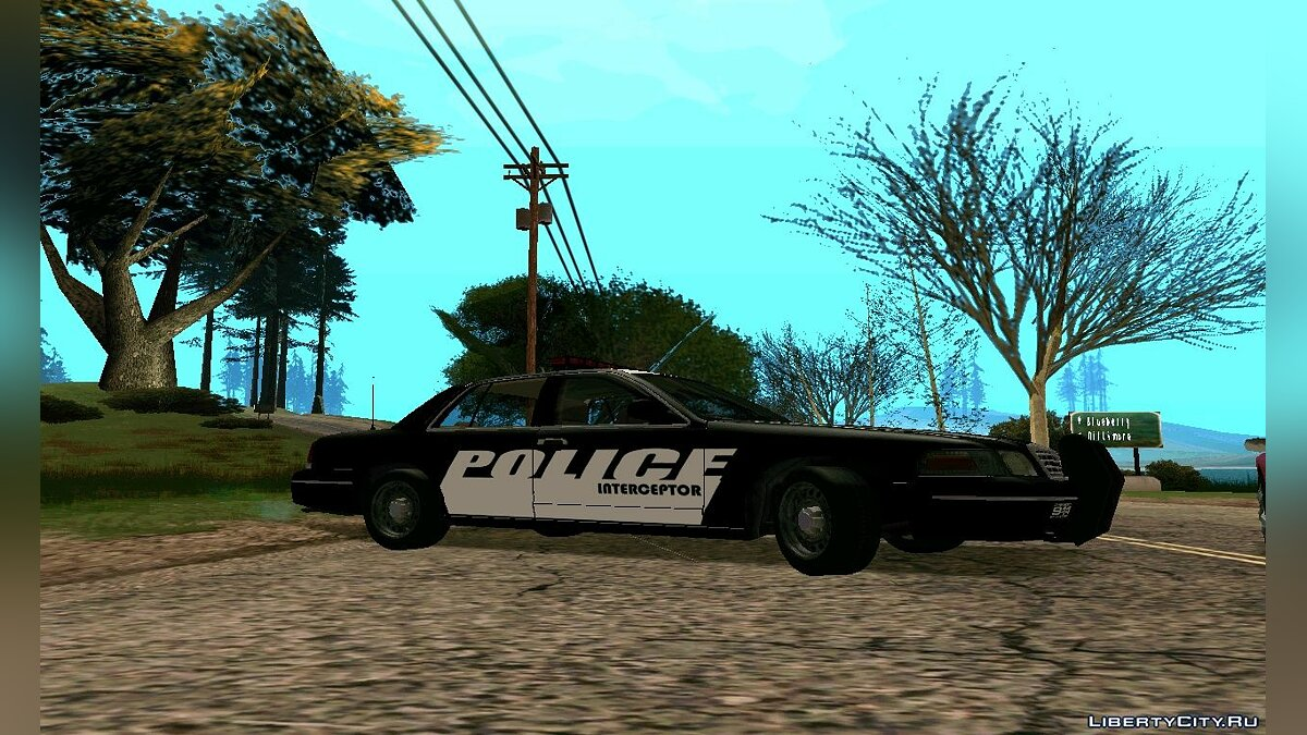 ��ашина полиции Police Interceptor Pack v2 для GTA San Andreas