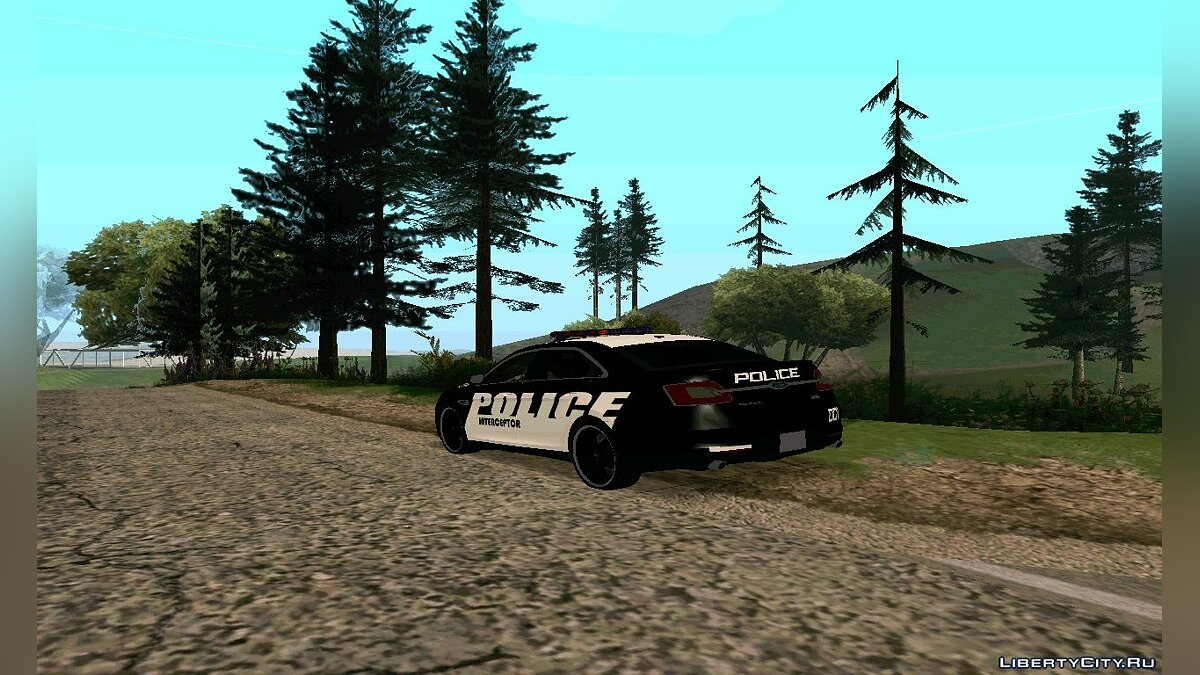 Police Interceptor Pack v2 для GTA San Andreas - скриншот #2