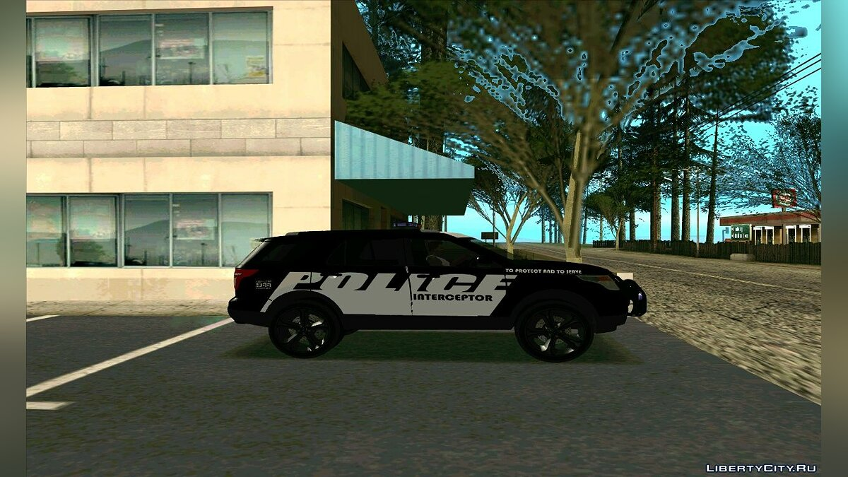 Police Interceptor Pack v2 для GTA San Andreas - скриншот #6