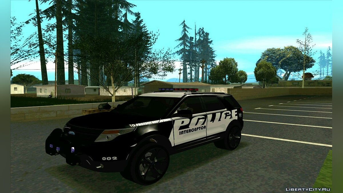 Police Interceptor Pack v2 для GTA San Andreas - скриншот #9
